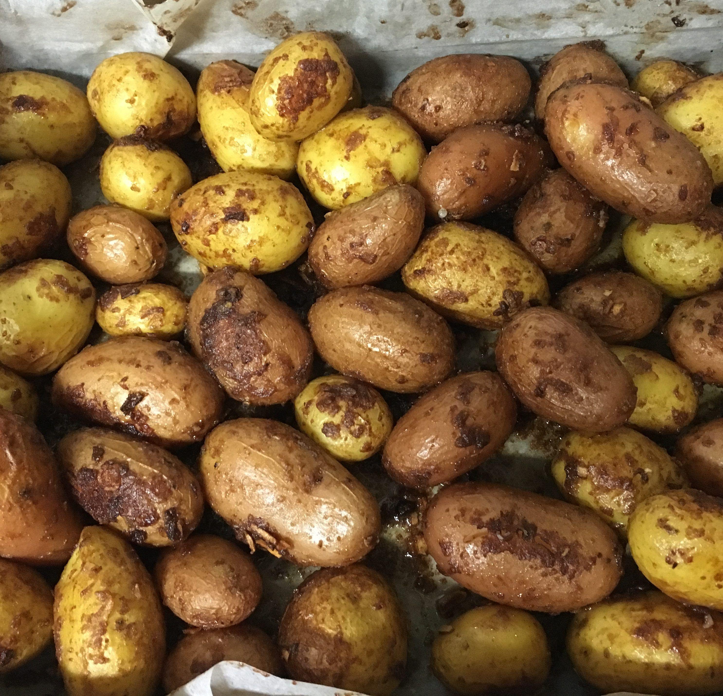 תפוחי האדמה מוכנים
