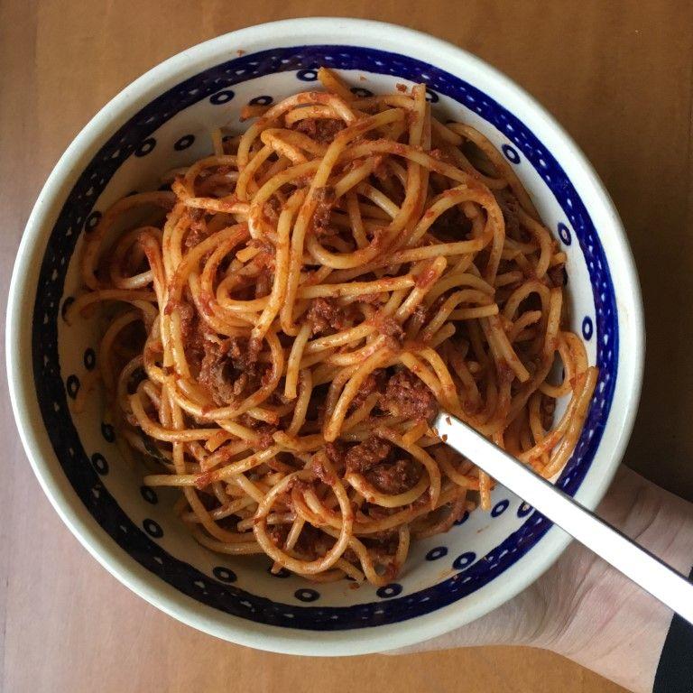ספגטי ראגו