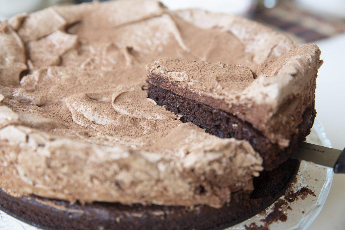 עוגה נפרסת